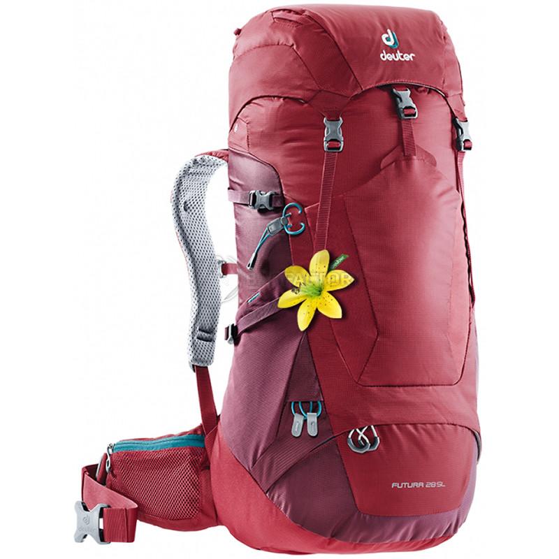 fa6b27cbc6da Туристический рюкзак Deuter Futura 28 SL Cranberry-Maron (34006185528) -  Интернет-магазин