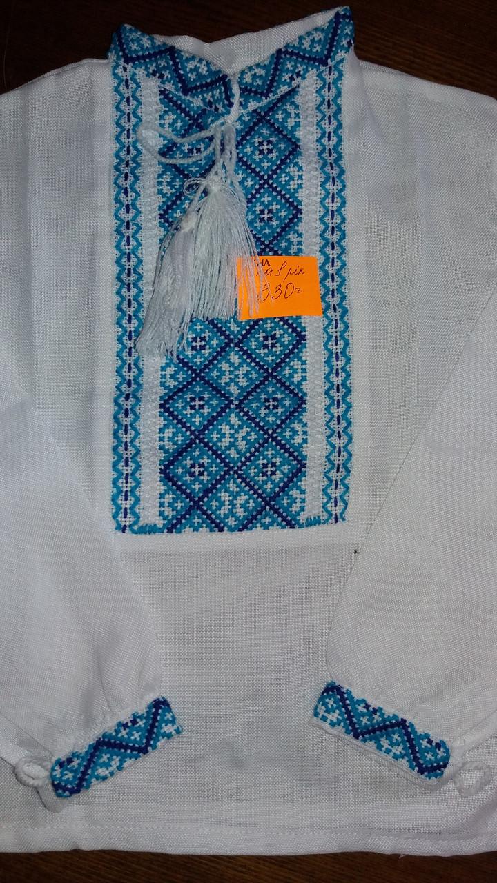 Вишиванка для хлопчика на 1 рік з вишивкою ручної роботи