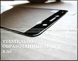 Premium Tempered Glass защитное стекло Huawei Y7 2017 (TRT-L21) с черными рамками олеофобное 0,33 мм, black, фото 4