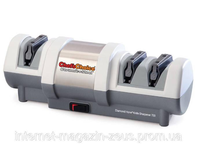 Электрическая точилка для керамических и стальных ножей Chef'sChoice 700