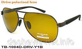 Очки для вождения антифары TED BROWNE TB-1004D DRV-Y1B  63 15-135