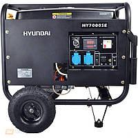 Бензиновый генератор Hyundai HY 7000SE, фото 1