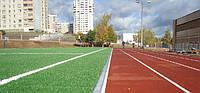 Достоинства и недостатки спортивных покрытий из резиновой крошки и искусственной травы