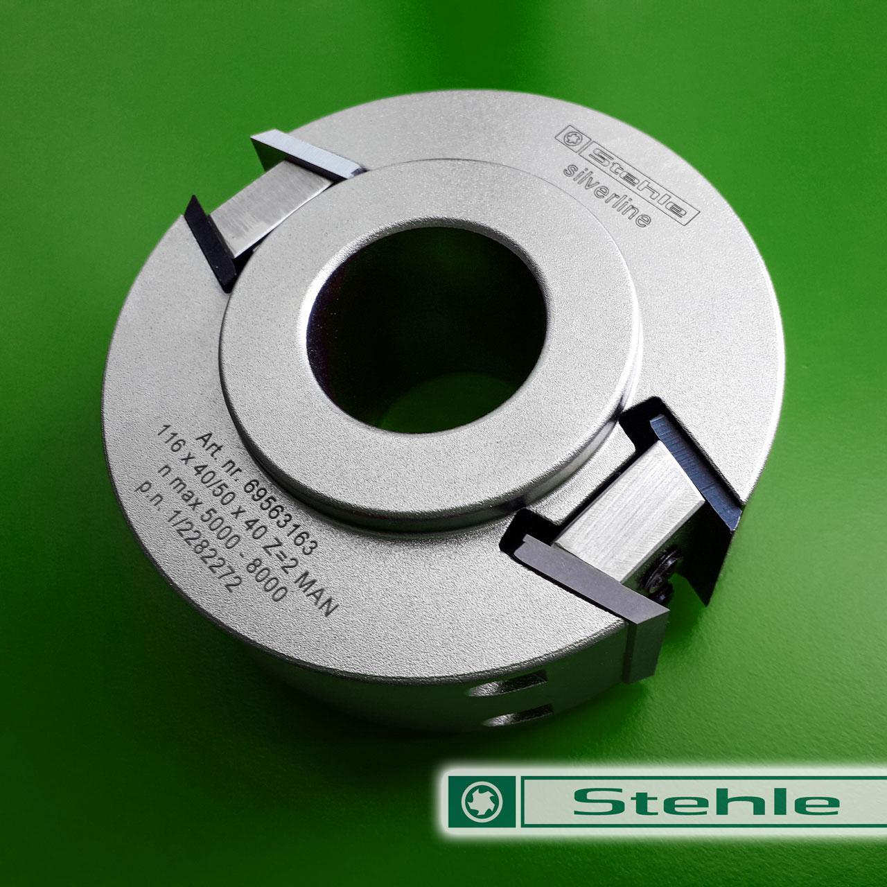 Профильная ножевая головка Stehle с ограничителем подачи 116x40/50x40, Z=2