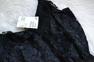 Новое короткое кружевное платье H&M, фото 3