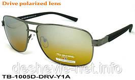 Очки для вождения антифары TED BROWNE TB-1005D DRV-Y1A 62□13-135