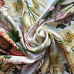10266-2, павлопосадский платок (жаккард) шелковый с подрубкой, фото 6