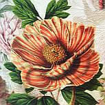 10266-2, павлопосадский платок (жаккард) шелковый с подрубкой, фото 3