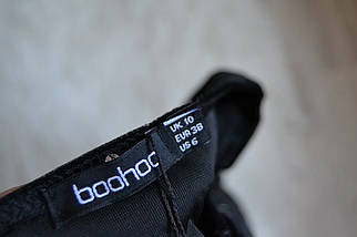 Новое бархатное платье в серебристый принт Boohoo, фото 3