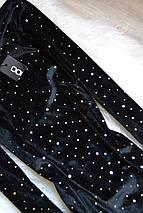 Новое бархатное платье в серебристый принт Boohoo, фото 2