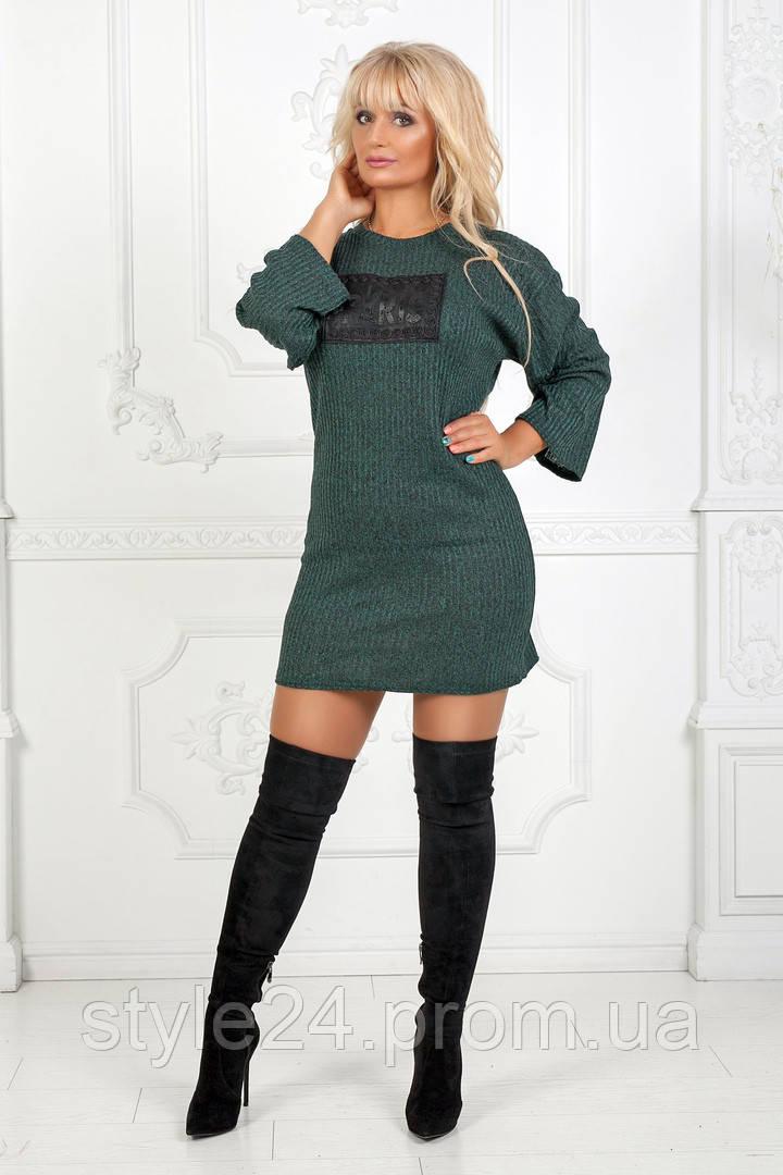 Батальне ангорове плаття з нашивкою.Р-ри 50-54  продажа 9288f433d81aa