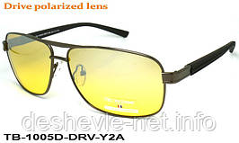 Очки для вождения антифары TED BROWNE TB-1005D DRV-Y2A 62□13-135