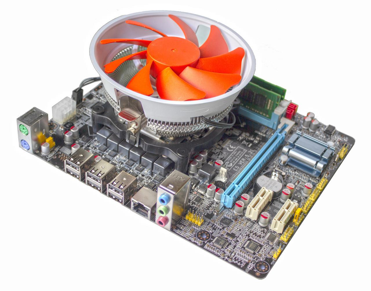 Материнская плата E5 V5.32 + Xeon E5-2420 1.9-2.4 GHz + 8 GB RAM + Кулер, LGA 1356