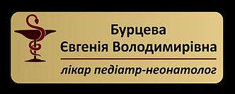 Бейдж металлический именной на магните или булавке 68х20