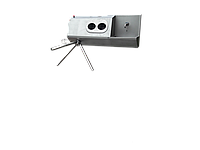 Санпропускник/станция гигиены с модулем мойки и дезинфекции рук СПД 10.01(правосторонний)