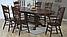 Обеденный раздвижной стол 4296 SWC темный орех Green River Wood, фото 5