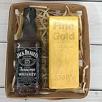 Подарочный набор Мыло для золотоискателя оригинальный подарок мужчине на новый год