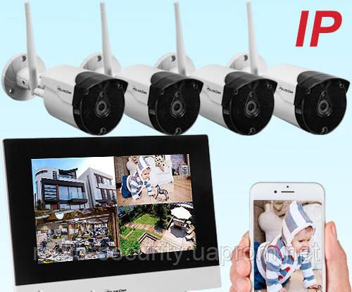 Бездротова система відеоспостереження TFT PoliceCam NVR-867 KIT