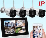 Беспроводная система видеонаблюдения TFT PoliceCam NVR-867 KIT