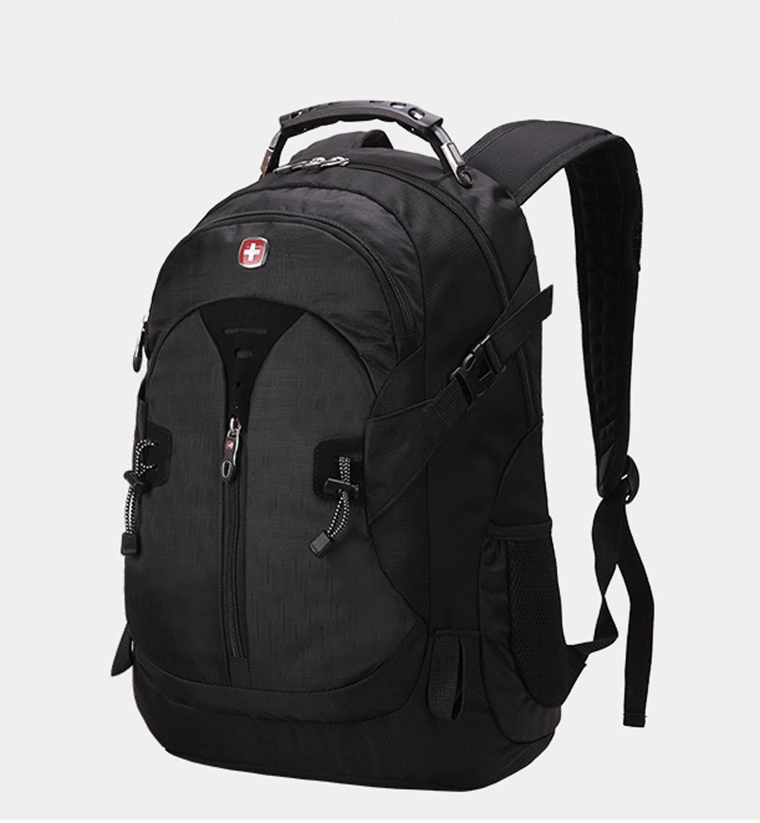 980d02ef3437 ... Вместительный рюкзак SwissGear Wenger, свисгир. Черный. + Дождевик. /  s7255 black, ...