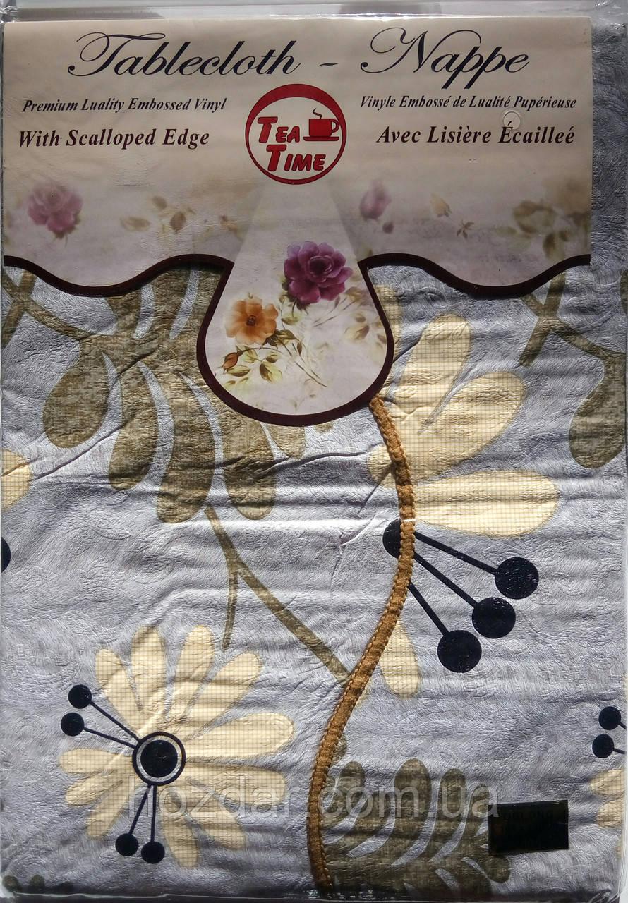 Скатертина вінілова Tea Time (T200) 109х140