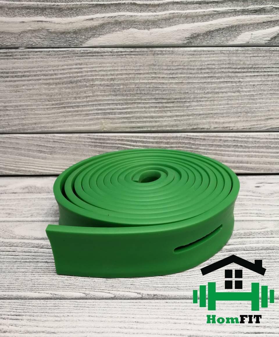 Эспандер лента с прорезями, зеленая