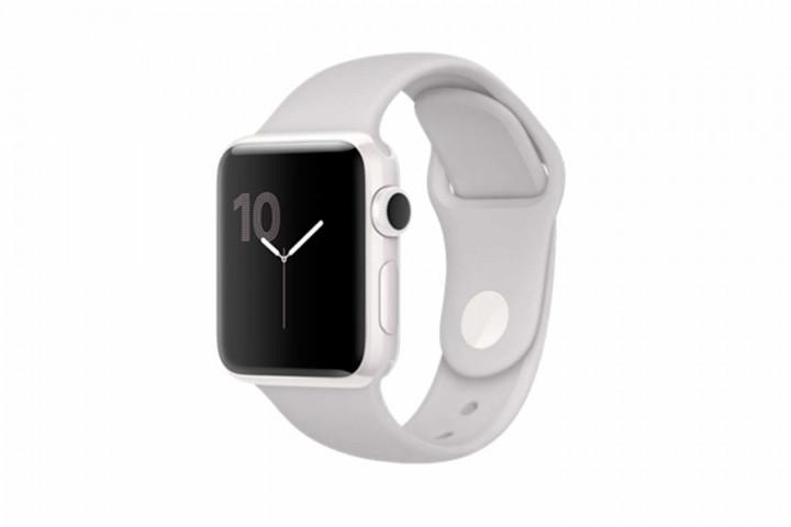 Apple Watch Series 2 42mm White Ceramic Case With Cloud Sport Band (MNPQ2)