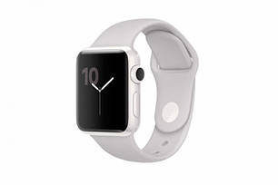 Apple Watch Series 2 42mm White Ceramic Case With Cloud Sport Band (MNPQ2) , фото 2