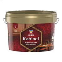 Eskaro Kabinet 70 Лак интерьерный 0,95 л - Декоративная и защитная отделка стеновых и потолочных панелей и т.д
