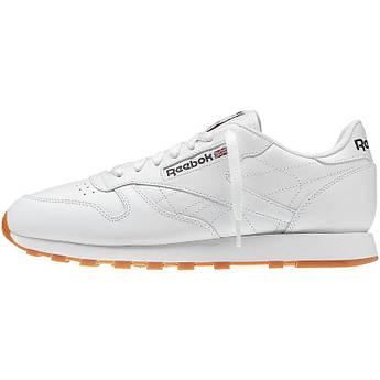 Кроссовки Reebok Classic Leather White Gum Classic 49797 45.5(30см) 12(US)