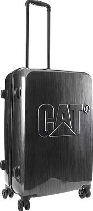 Чемодан CAT CAT-D 83550;83 сталь серый, фото 2