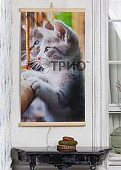 """Электрический настенный обогреватель-картина """"Котик"""""""