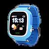 Детские смарт-часы Q100 с GPS Голубые