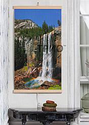 """Електричний настінний обігрівач-картина """"Водоспад"""""""