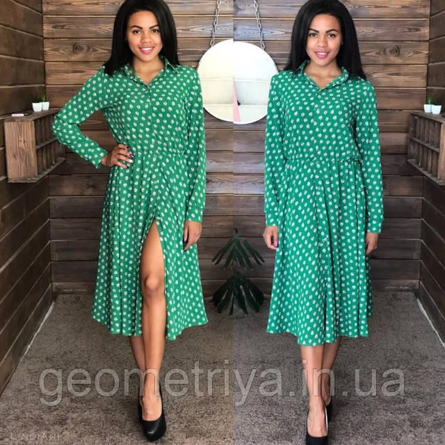 054dc7ae2fb2ced Платье универсально, можно одевать как на работу в офис, так и для прогулок  в парке, лёгкое и женственное. Производство Украина