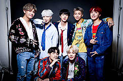 Картина 60х40 GeekLand Bangtan Boys BTS Beyond The Scene 3.01