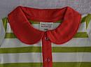 Боди-поло с длинным рукавом в полоску Мышка (Z&M, Турция), фото 2