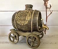 Керамический бочонок Герб, фото 1