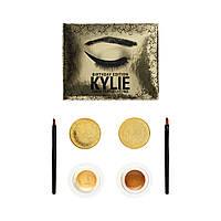Набор кремовых  золотых теней  Kylie Double Color Gel Eyeliner