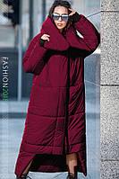 Длинный пуховик одеяло женский Klayd 42–50р. в расцветках