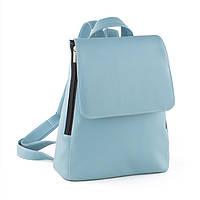 Рюкзак с клапаном светло голубой флай_склад_z, фото 1