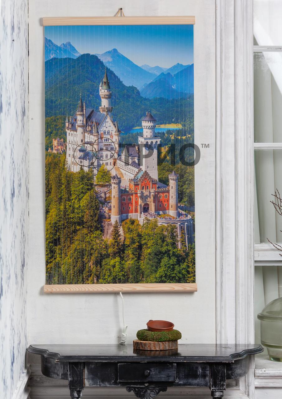 """Електричний настінний обігрівач-картина """"Замок"""""""