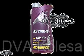 "Масло моторное  4T, 1л   (SAE 5W-40, синтетика, Extreme 5W-40 API SN/CF)   ""MANNOL"""