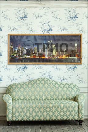 """Електричний настінний обігрівач-картина VIP """"Нью-Йорк"""", фото 2"""