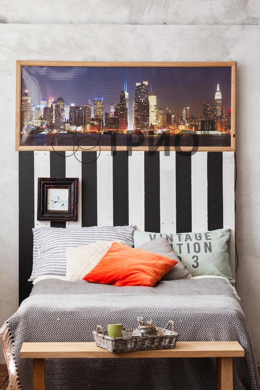 """Електричний настінний обігрівач-картина VIP """"Нью-Йорк"""""""