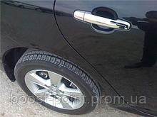 Хром накладки на дверные ручки (нерж) Toyota Camry xv30 (Тойота Камри 30 кузов 2001г-2006г)