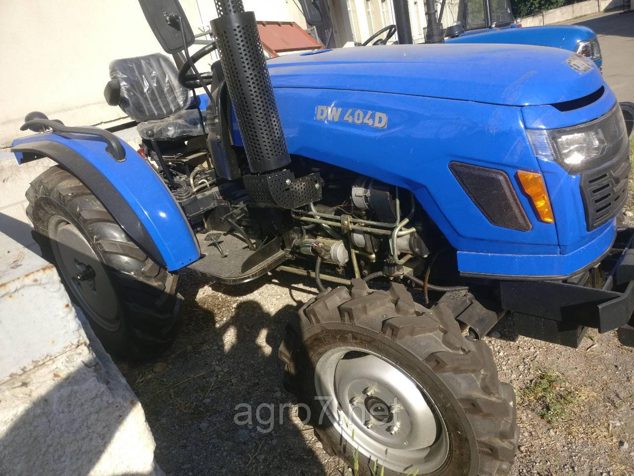Трактор DW 404D (4х4, Гидроусилитель руля, доставка)