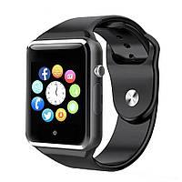 Cмарт часы телефон Smart Watch A1 (GT08) чёрный, фото 1