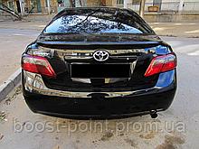 Lip Spoiler (лип спойлер багажника - сабля) Toyota camry xv40 (Тойота Камри 40 кузов 2006г-2011г)