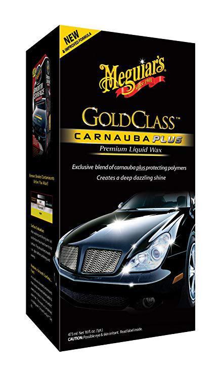 Карнауба жидкий воск - Meguiar`s Gold Class Carnauba Plus Liquid Wax 473 мл. (G7016)